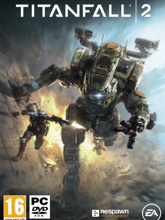 Image result for Titanfall 2 Deluxe Edition cover pc