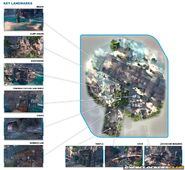 TF Lagoon Map