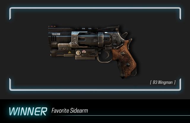 TF AwardFrame Sidearm