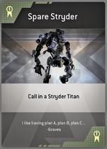 Spare Stryder