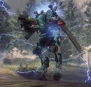 Arc Titan Ronin