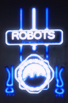 Robots brewing Co neon sign