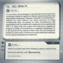 LORE P617 test results
