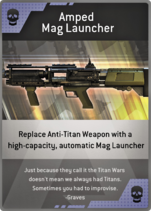 Amped Mag Launcher