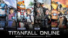 Titanfall Online Character Poster