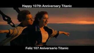 Happy 107th Anniversary Titanic