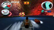 Hydro Thunder Tinytanic racing on Catacomb