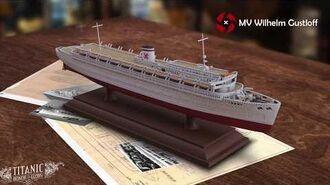 "75th Anniversary 3D Printed ""MV Wilhelm Gustloff"""