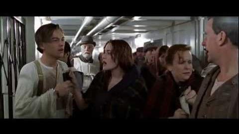 "Titanic, 1997 (Deleted scene ""Shut up!"") HD 1080p"