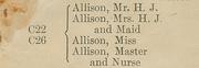 Allison Cave List