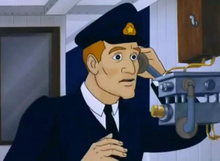 Sixth Officer Moody in Titanic The Legend Goes On (2000)