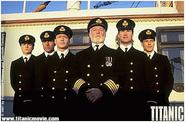 Officiers Titanic