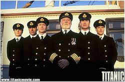 Officiers Titanic