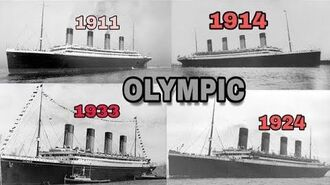 RMS Olympic - Magnificent Ship timeline REAL VIDEO