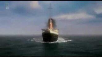 Titanic Iceberg Collision CGI