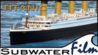 Rc model TITANIC The legendary ship! - Subwaterfilm