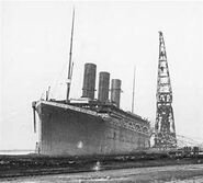 Titanic fitting out 2