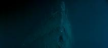 Proue épave Titanic 2
