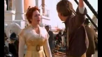 Titanic Scene - Jack and Rose Talk on Deck