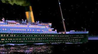"Titanic Night01 01 02 Titanic 3D animation CGI ""RMS Titanic"""