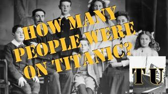 Lesson 3 How Many People were on Titanic?