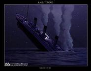 Titanic Stern Cracking