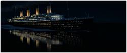 Titanic soir collision
