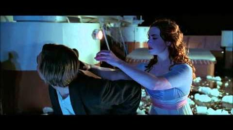 Titanic, 1997 (Deleted scene Flirting with Ice) HD 1080p