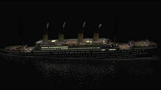 Titanic 3D Sinking Simulation 1280x720 720p Full HD (WIP)