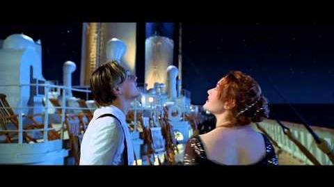 Titanic (1997) Deleted scene Come Josephine Shooting Star HD 1080p