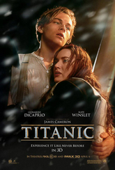 Affiche film Titanic 3D