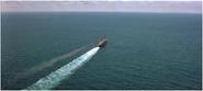 Titanic dans l'Atlantique