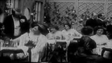 Café Parisien in In Nacht Und Eis (1912)