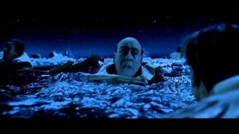 Titanic, 1997 Deleted scene Extended Jack and Rose in Water HD 1080p