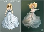 Titanic Phantoms Victom Lady Ghost Sketch