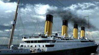 "Titanic 3D animation CGI ""RMS Titanic"" Version 02"