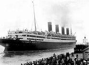 Lusitania maiden voyage