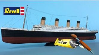 Titanic Revell Model 1 700