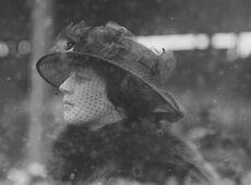 Madeleine Astor at Belmont Park 1915
