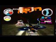 Hydro Thunder Tinytanic racing on New York Disaster