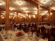 Second class dining saloon
