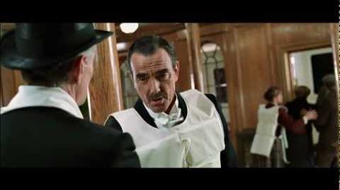 Titanic, 1997 (Deleted scene Guggenheim and Astor) HD 1080p