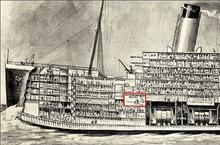 RMS-Titanic-Squash-Racquets-Court-Side-view