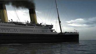 "The last morning of RMS Titanic. Titanic 3D animation CGI ""RMS Titanic"""