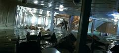 Salle de réception naufrage