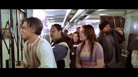 Titanic, 1997 Deleted scene Shut up! HD 1080p