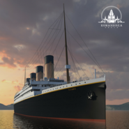 Romandisea Titanic artist impression