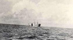 Carpathia Sinking