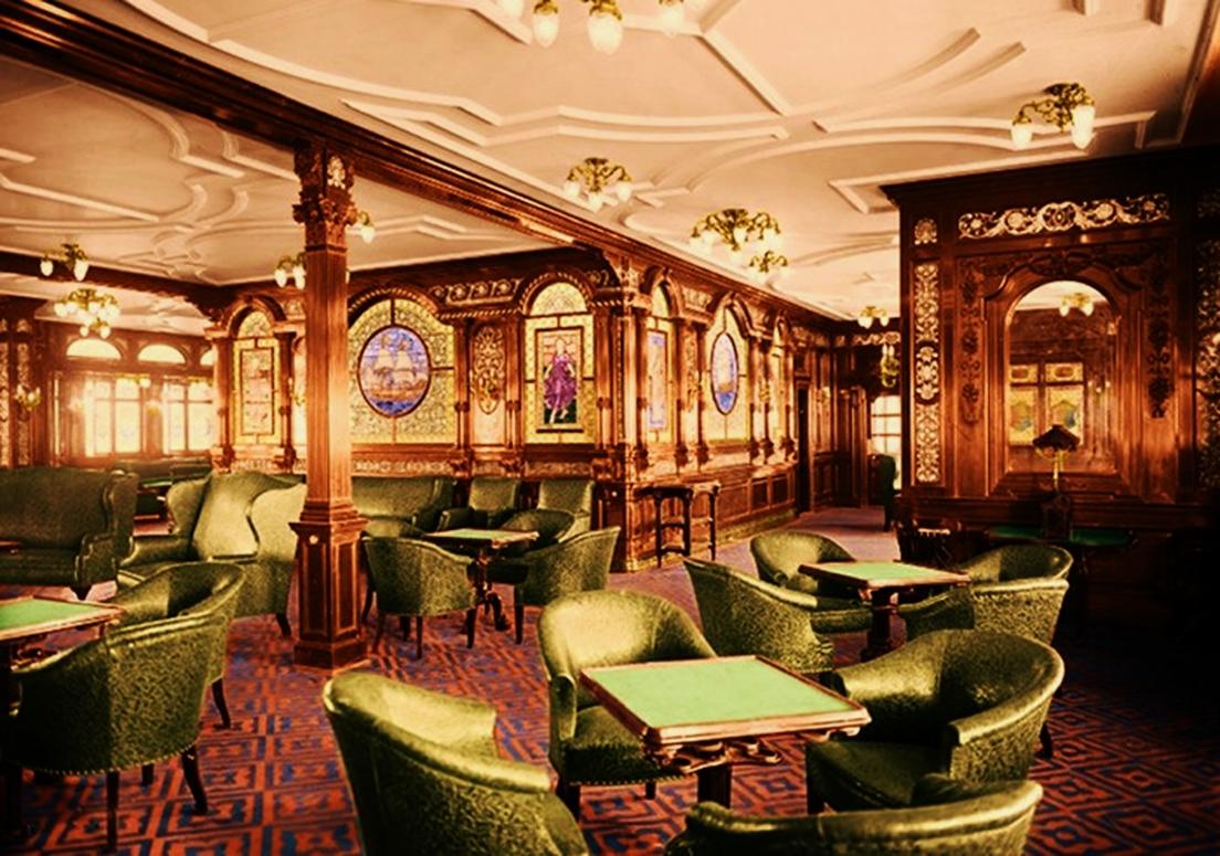 First Class Smoke Room   Titanic Wiki   Fandom