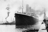 Titanic in southampton